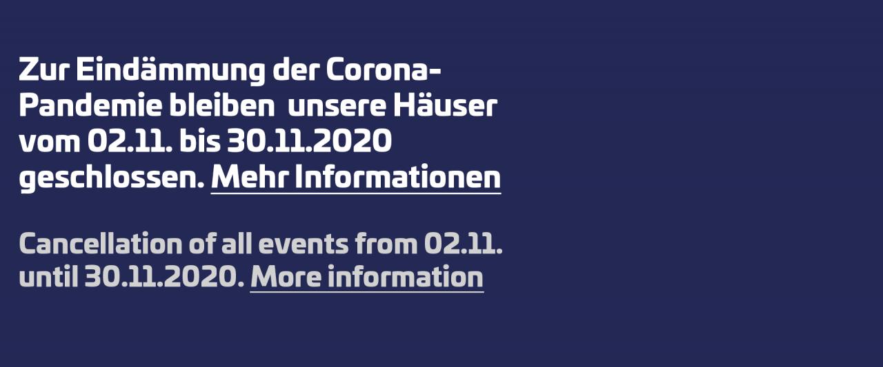 Veranstaltungen Berlin November