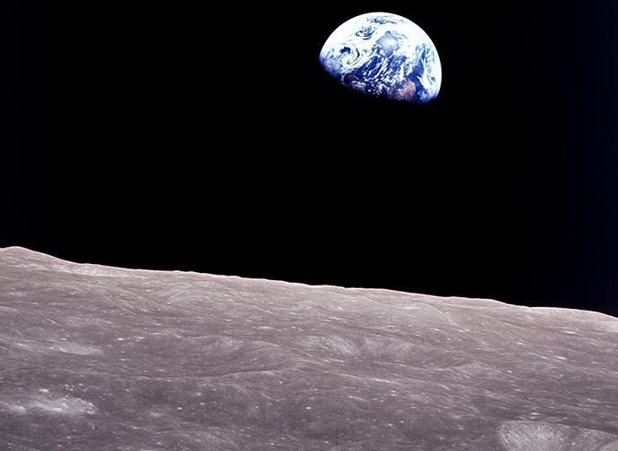 Earthrise, Apollo 8 Mission © NASA