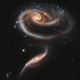 Interagierende Galaxien © NASA, ESA, and the Hubble Heritage Team (STScI/AURA)