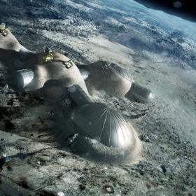 Moonvillage © ESA